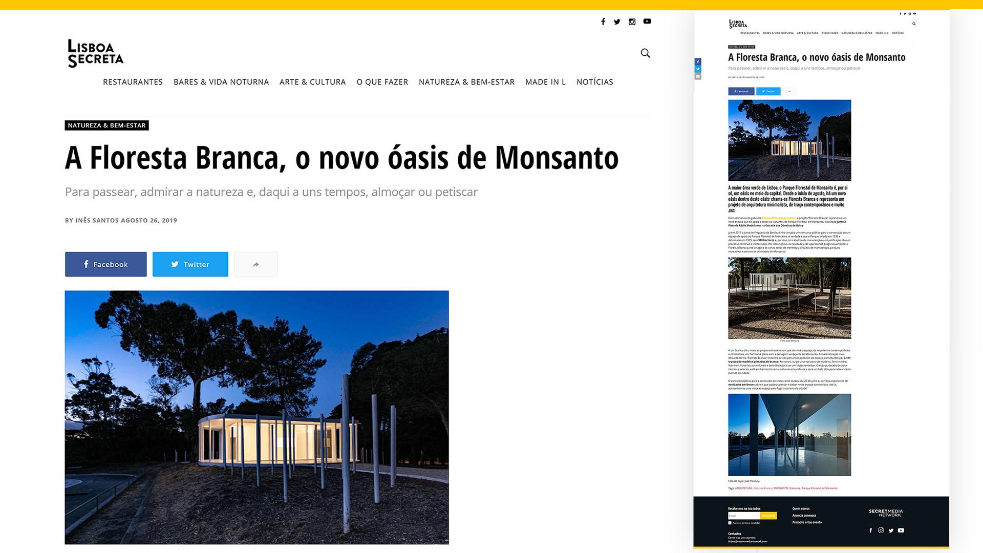 Obra em Lisboa, Monsanto