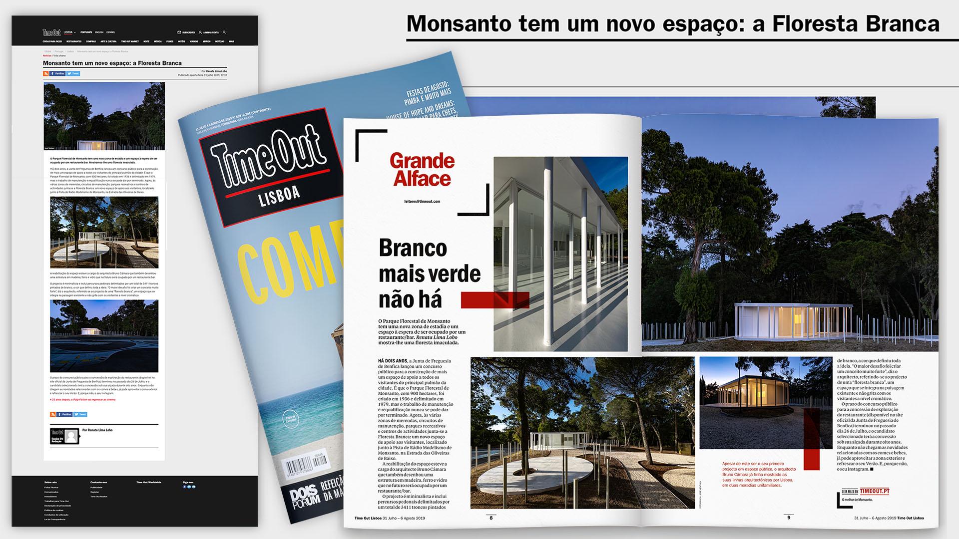 Obra de Construção em Lisboa, Monsanto